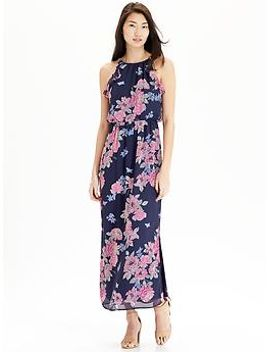 womens-floral-chiffon-maxi-dresses by old-navy
