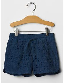 eyelet-varsity-shorts by gap