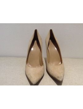 authentic-gucci-suede-beige-pumps-size-38 by ebay-seller