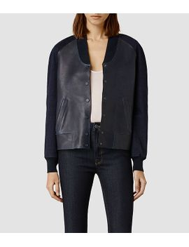 winsor-bomber by allsaints