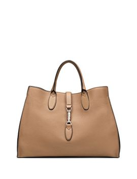 jackie-soft-leather-top-handle-bag,-camel by gucci