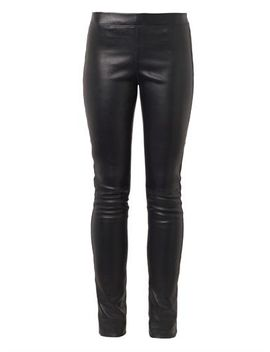 navy-mid-rise-leather-leggings-(199342) by joseph