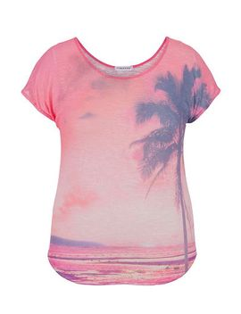 palm-tree-graphic-print-knit-plus-size-tee by maurices