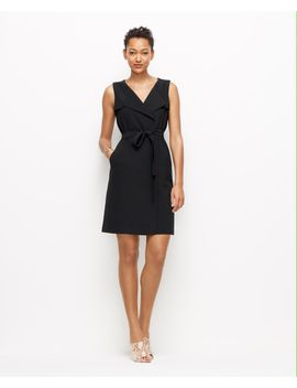 trench-wrap-dress by ann-taylor