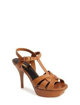 tribute-t-strap-sandal by saint-laurent