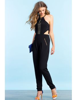 chain-embellished-jumpsuit by agaci