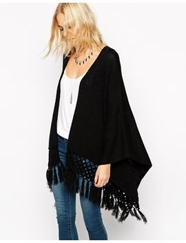 asos-kimono-cardigan-with-fringing by asos-collection