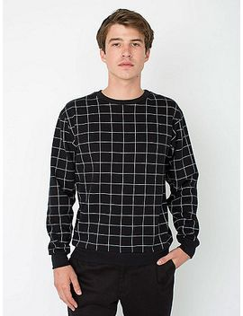 printed-drop-shoulder-pullover by american-apparel