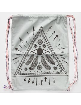 tribal-eye-cinch-sack by tillys
