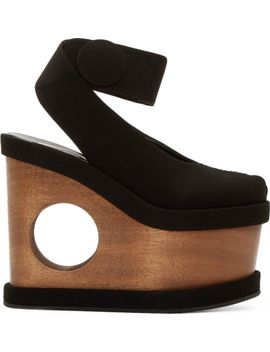 black-cut-out-platform-sandals by stella-mccartney