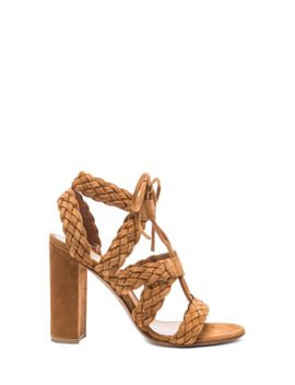 braided-suede-heels by gianvito-rossi