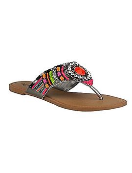 naughty-monkey-electric-shine-sandals by generic
