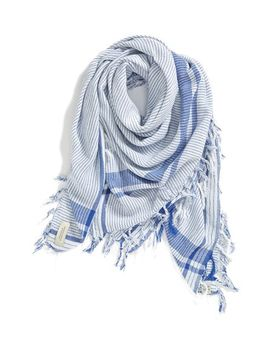 signature-oversized-stripe-scarf by maison-scotch