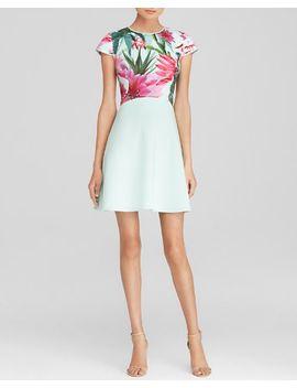ted-baker-anushia-chameleon-print-skater-dress---bloomingdales-exclusive by bloomingdales-exclusive