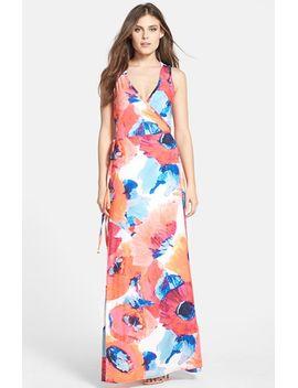 print-jersey-maxi-dress by trina-turk