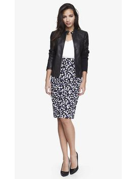 floral-high-waist-midi-pencil-skirt by express