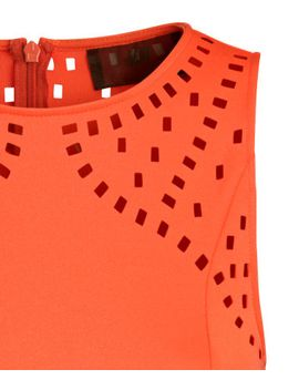 dress-with-perforated-pattern by h&m