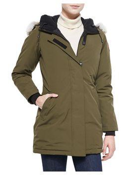 victoria-fur-hood-parka-jacket by canada-goose
