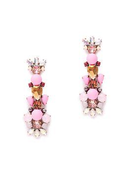 crystal-foliage-earrings by jcrew