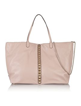 the-outnetrockstud-embellished-leather-tote by valentino