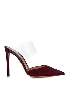 plexi-point-toe-suede-mules-(1001138) by gianvito-rossi
