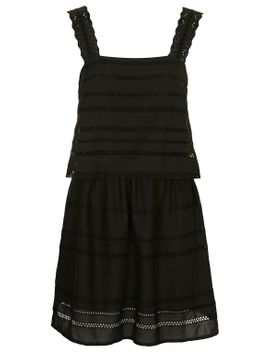 trim-insert-pinafore-overlay-sundress by topshop