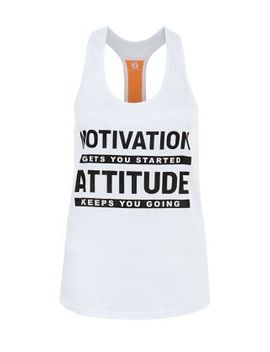 white-sports-mesh-back-motivation-vest by new-look