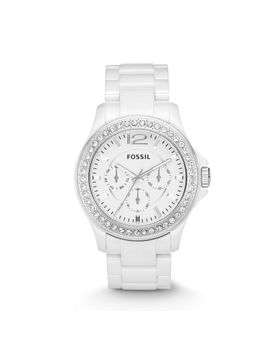 riley-multifunction-ceramic-white-watch by fossil