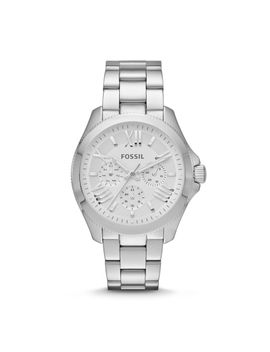 cecile-multifunction-stainless-steel-watch by fossil