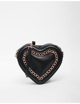 asos-loveheart-cross-body-bag by asos-collection