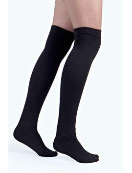 tori-thermal-thigh-high-socks by boohoo