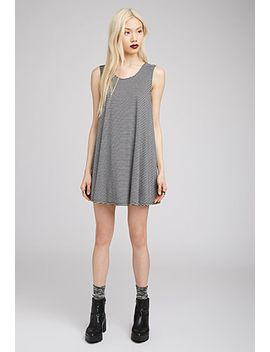 striped-trapeze-dress by forever-21