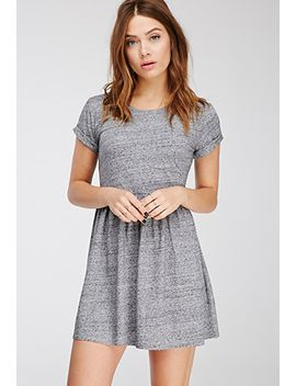 heathered-babydoll-dress by forever-21