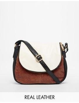urbancode-colourblock-leather-cross-body-bag by urbancode