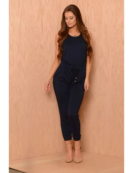 momentum-jumpsuit---navy by fashion-nova