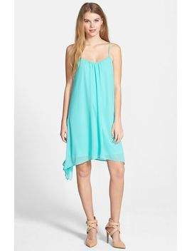braided-strap-trapeze-dress by socialite