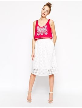 french-connection-april-full-skirt-in-lace by french-connection