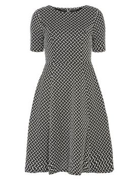 knitted--jacquard-dress by dorothy-perkins