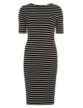 stripe-bodycon-dress by dorothy-perkins