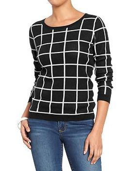 womens-patterned-sweaters by old-navy