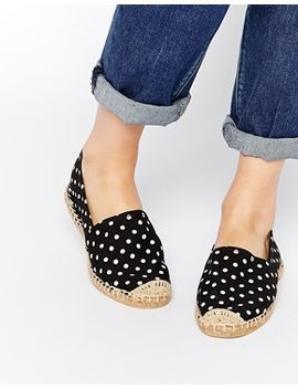 london-rebel-dot-espadrilles by shoes
