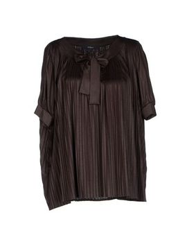 blue-les-copains-blouse---shirts-d by see-other-blue-les-copains-items