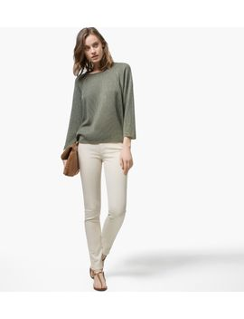 slim-fit-coloured-jeans-style-trousers by massimo-dutti