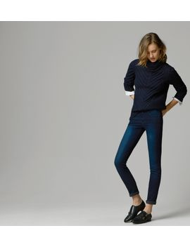 high-waisted-skinny-jeans by massimo-dutti