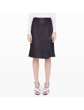 arlet-leather-wrap-skirt by club-monaco
