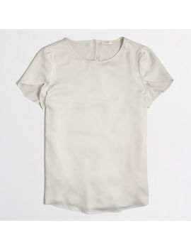 petal-sleeve-top by jcrew