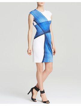 dress---indigo-dream-cap-sleeve by clover-canyon