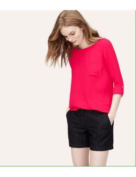 tall-pocket-blouse by loft