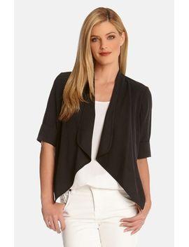 drape-front-bolero-jacket by karen-kane