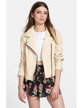 faux-leather-moto-jacket by blanknyc